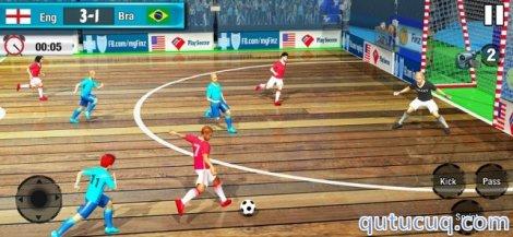 Indoor Soccer Futsal 21 ekran görüntüsü