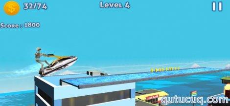 JetSki MotoCross Diving Stunts ekran görüntüsü