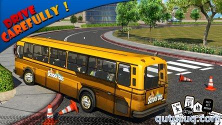 Schoolbus Driver 3D ekran görüntüsü