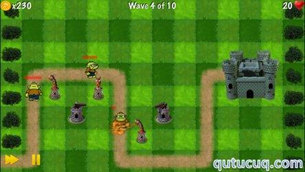 Zombie Tower Shooting Defense ekran görüntüsü